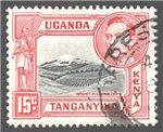 Kenya, Uganda and Tanganyika Scott 72 Used